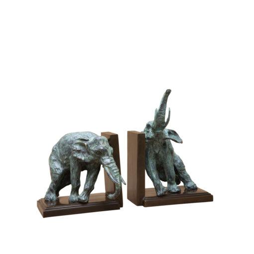 Набор из двух подставок под книги Lazy Elephant