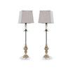 Набор из двух настольных ламп Florence Buffet