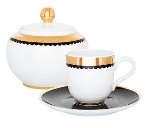 Чайный сервиз 2 предмета Saturn