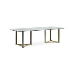 Обеденный стол REMIX DBL PED