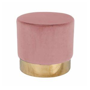 Пуф Lilou Pink Velvet