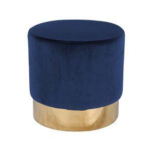 Пуф Lilou Blue Velvet