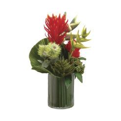 Искусственные цветы Протея / Бромелия