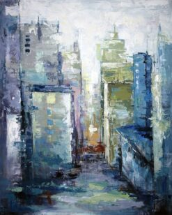 Картина City's Eve