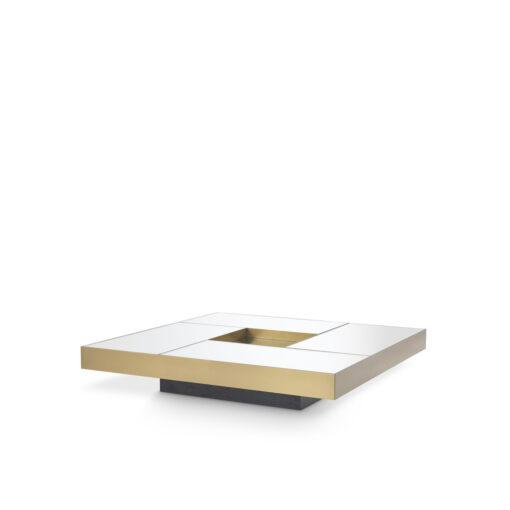 Журнальный столик ALLURE брашированная латунь