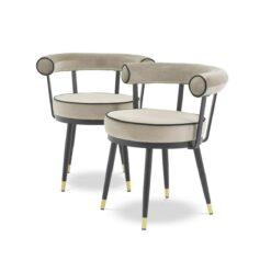 Набор из двух обеденных стульев VICO