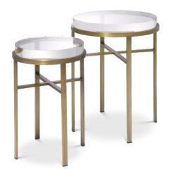 Набор из двух приставных столиков HOXTON