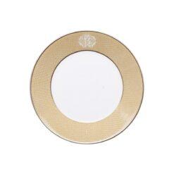 Тарелка для супа LIZZARD gold