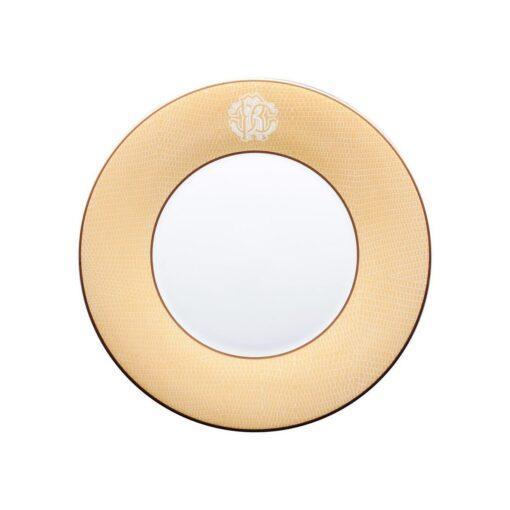Тарелка столовая Lizzard Gold
