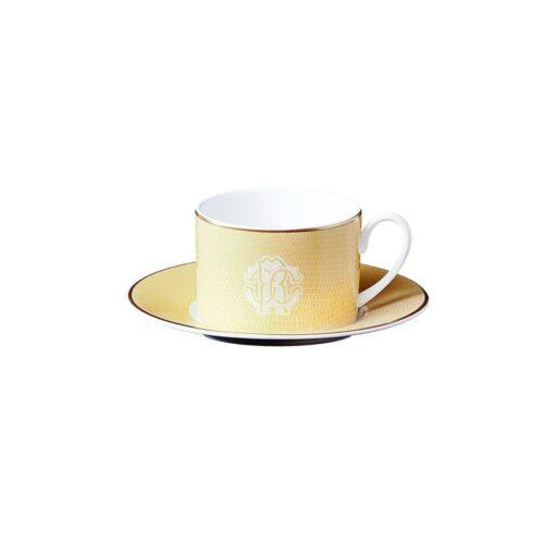 Чайная пара Lizzard Gold