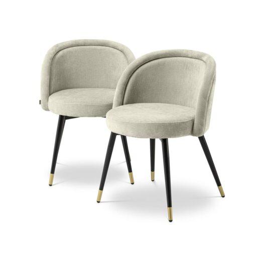 Набор из двух обеденных стульев CHLOÉ