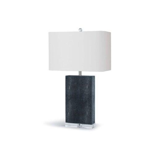 Настольная лампа Marcel Charcoal Shagreen