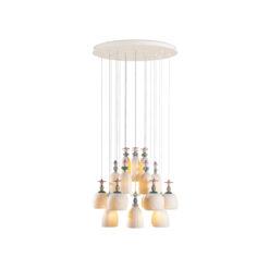 Потолочная лампа Mademoiselle 24 Lights