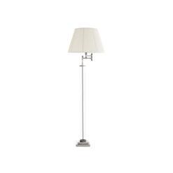 Напольная лампа BEAUFORT никель