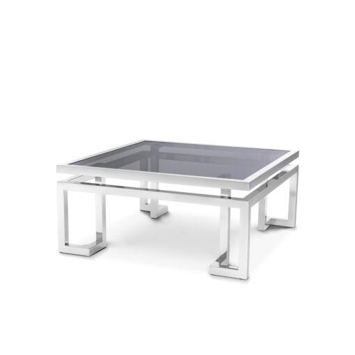 Журнальный столик Palmer полированная нержавеющая сталь