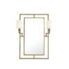Зеркало ASTAIRE состаренная латунь