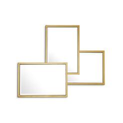Зеркало SENSATION золотистая отделка