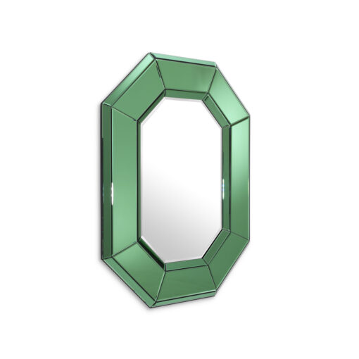 Зеркало LE SERENO зелёный