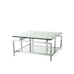 Журнальный столик SUPERIA полированная нержавеющая сталь