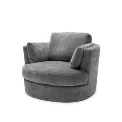 Вращающееся Кресло CLARISSA серый