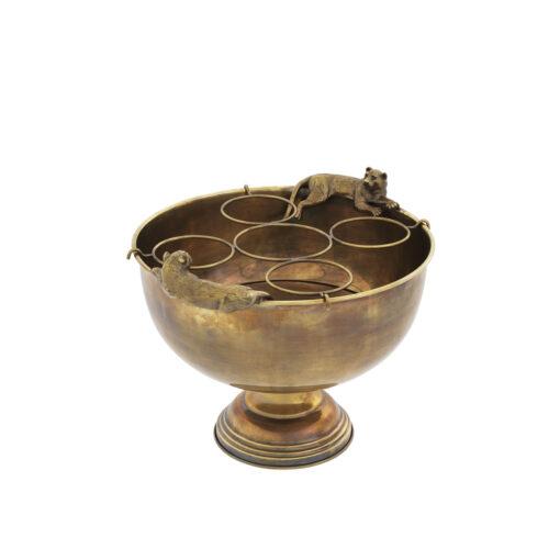Ведро для шампанского JORDAN состаренная латунь