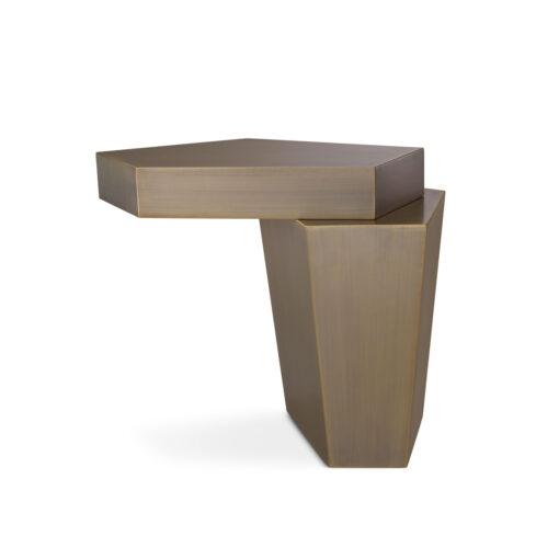 Журнальный столик CALABASAS H. 60 CM брашированная латунь