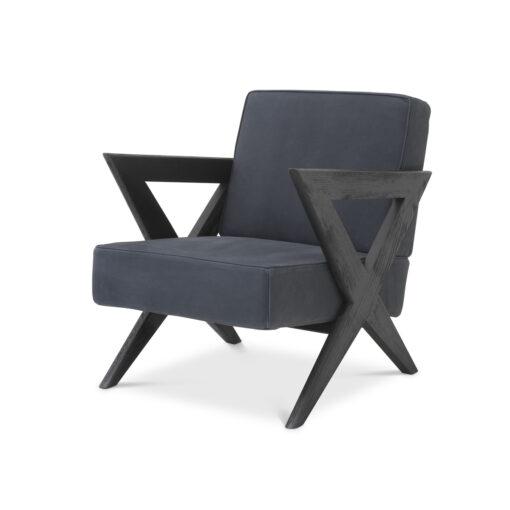 Кресло FELIPPE Тёмно-синий