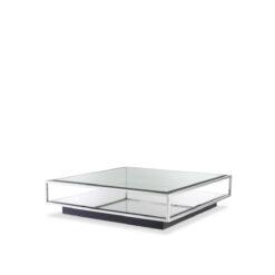Журнальный столик TORTONA L полированная нержавеющая сталь