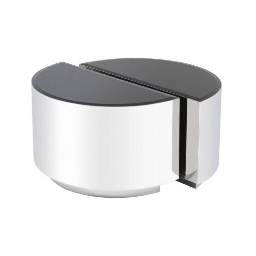Набор из двух приставных столиков ASTRA полированная нержавеющая сталь