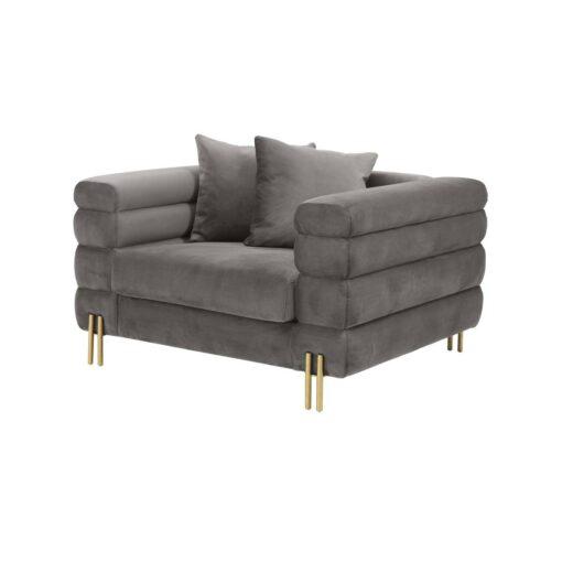 Кресло YORK Пепельно-серый