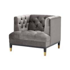 Кресло Castelle Серый