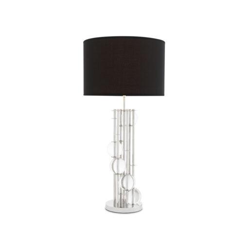 Эксклюзивная настольная лампа Eichholtz Lorenzo Black Shade из Голландии
