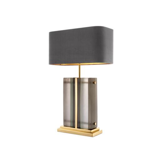 Настольная Лампа SOLANA полированная латунь