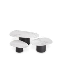 Набор из трех кофейных столиков Zane