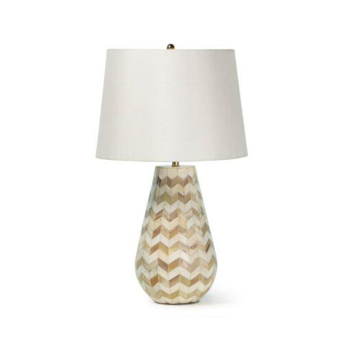 Эксклюзивная настольная лампа Regina Andrew Cassia Chevron из Америки